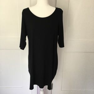 Eileen Fisher half sleeve tunic swing top